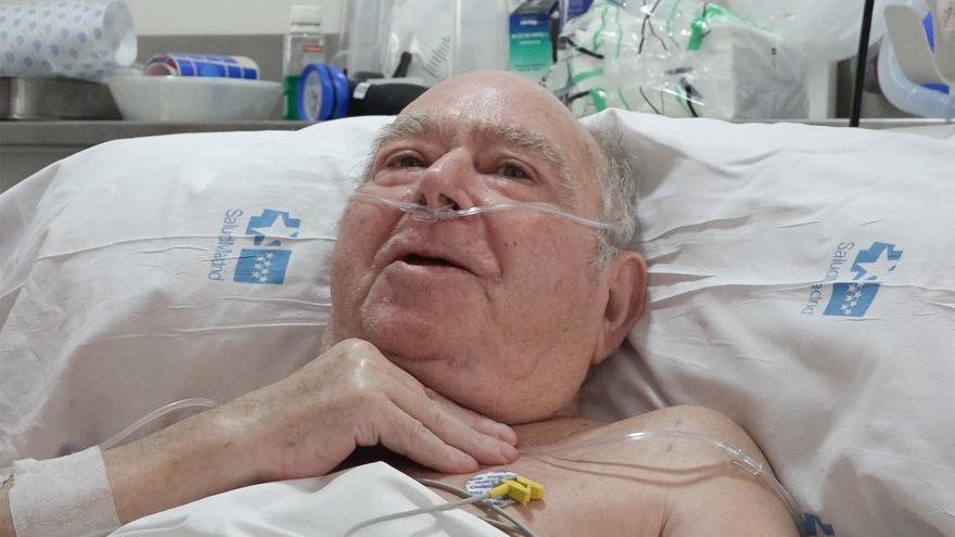Paciente Pedro Gamella