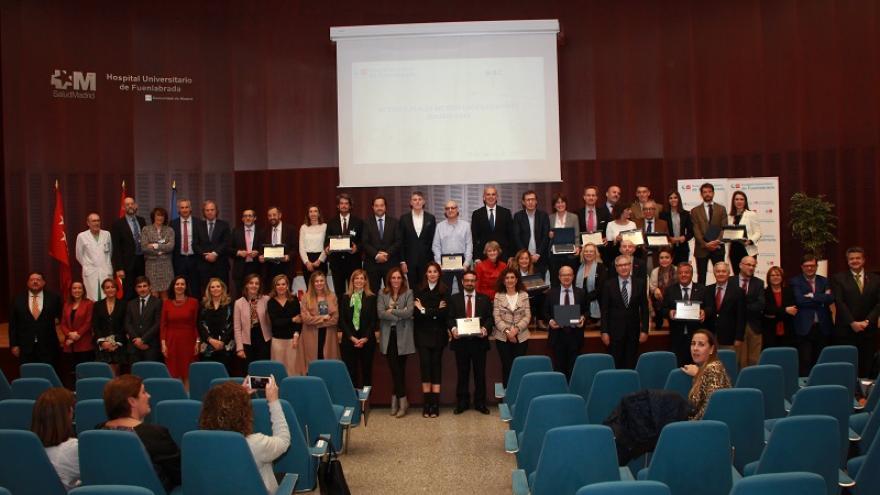 Foto de familia de todos los galardonados en los premios Best in Class
