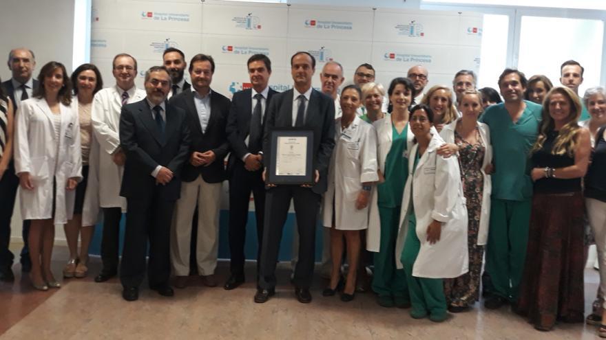 El Servicio de Cirugía recibe el certificado AENOR de calidad