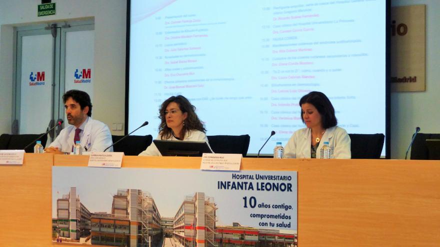Inauguración del VI Curso de Enfermedades Autoinmunes Sistémicas en Dermatología del Hospital Universitario Infanta Leonor