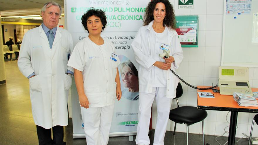 Integrantes del Servicio de Neumología