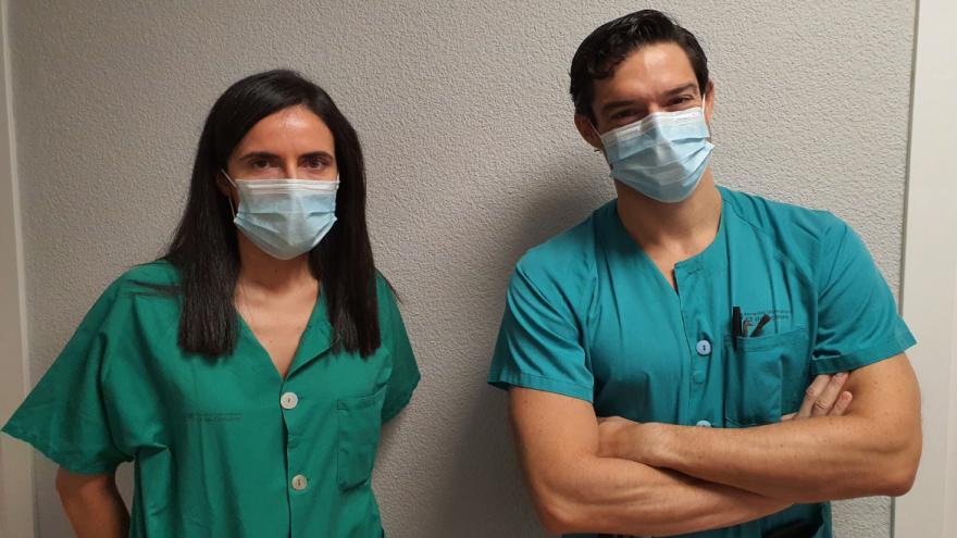 neurocirujanos responsables del ensayo clínico