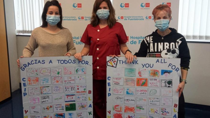 El Hospital de Fuenlabrada celebra una Navidad solidaria y con actividades para los pacientes ingresados