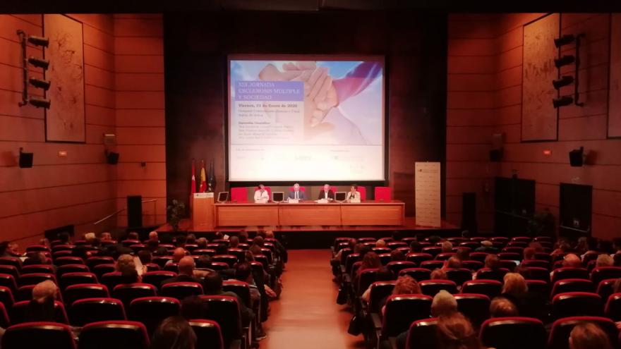 Imagen de la mesa inaugural del evento en el Hospital Universitario Ramón y Cajal