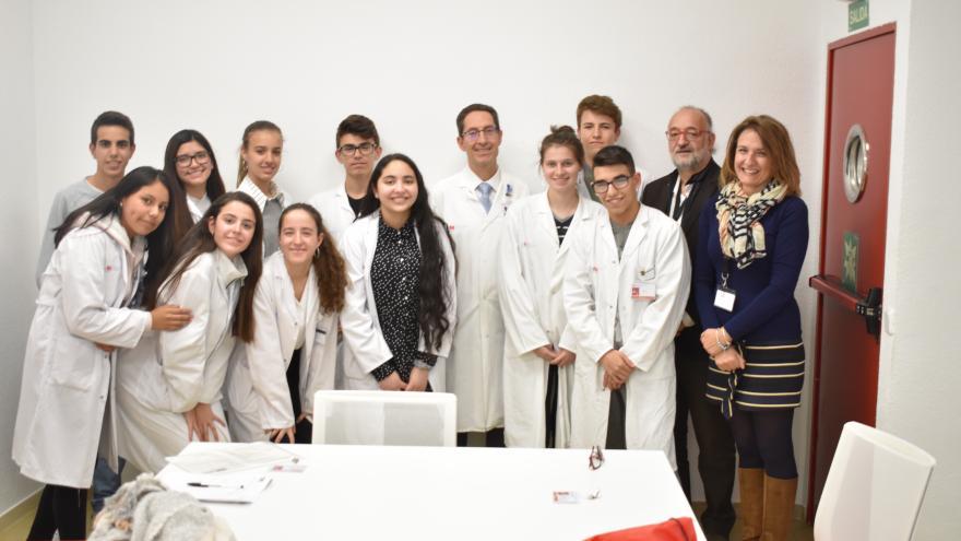 2 turno de alumnos del 4º de la ESO +Empresa