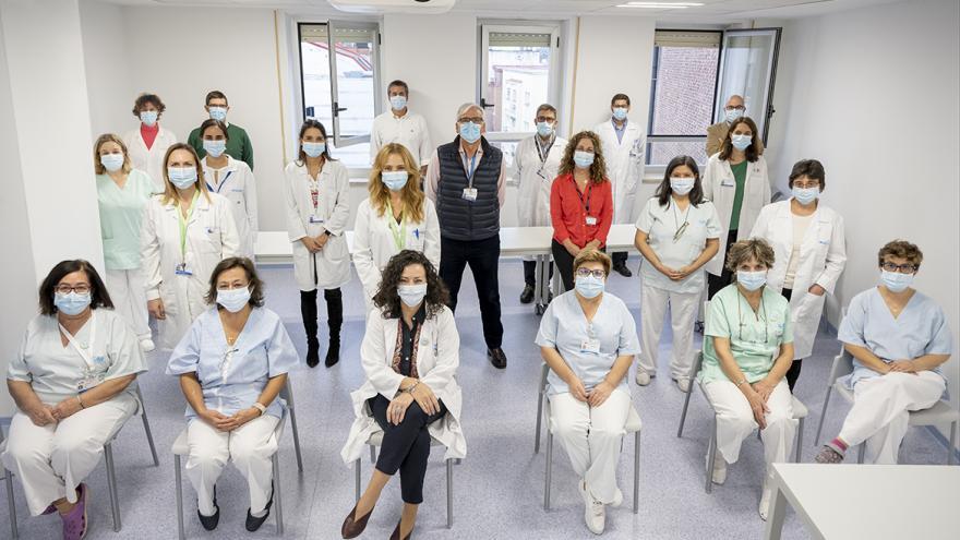 profesionales del hospital gregorio marañon