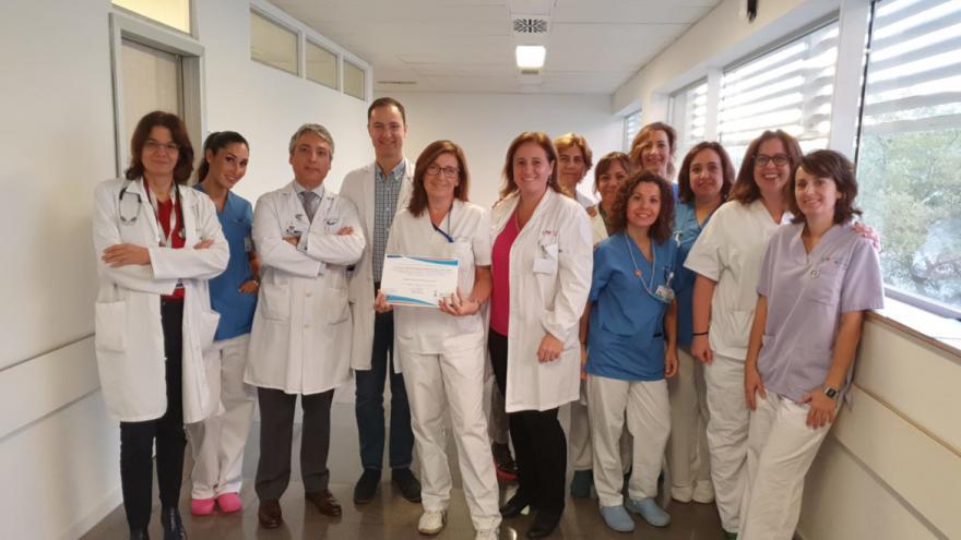 Miembros del grupo de trabajo RICA del Hospital Universitario Infanta Leonor