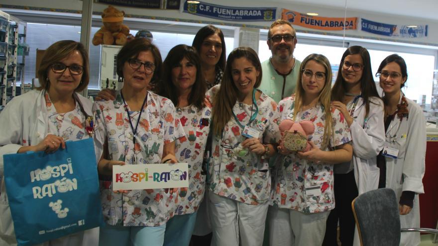 Los niños ingresados en el Hospital de Fuenlabrada recibirán la visita del Ratoncito Pérez