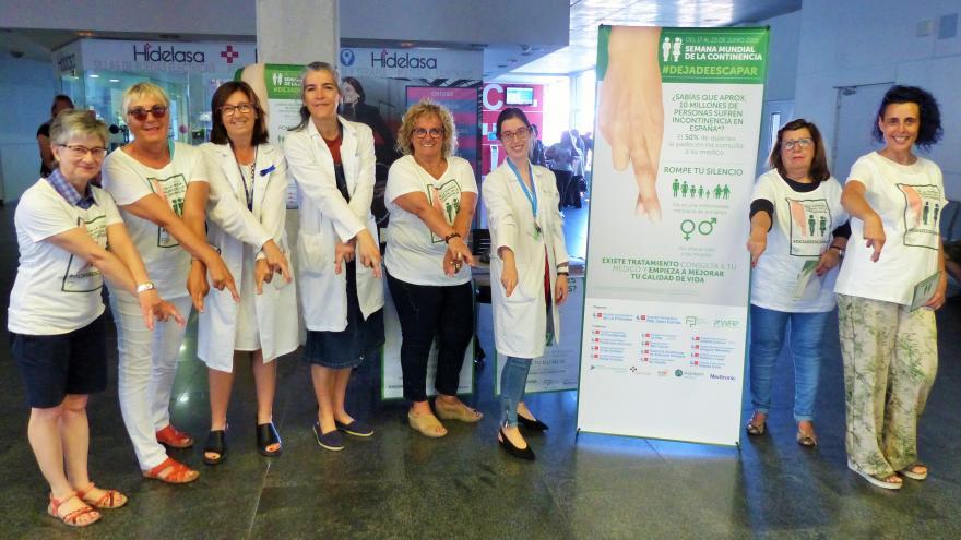 El Servicio de Cirugía general y Aparato Digestivo del Hospital Universitario Infanta Leonor colabora con la asociación de pacientes ASIA