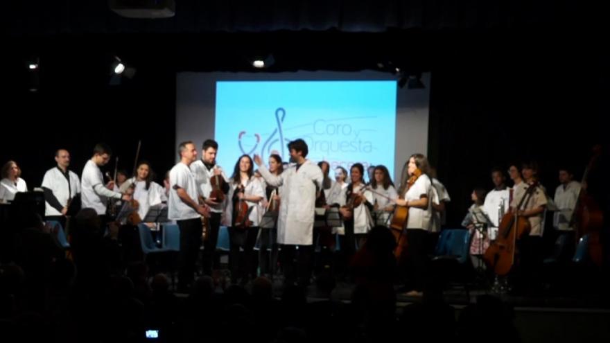 Participantes en la Orquesta y Coro de Cabecera de Atención Primaria