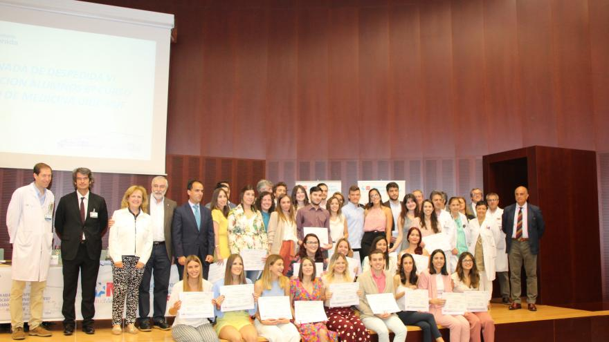 VI promoción de médicos que concluye su formación en el Hospital Universitario de Fuenlabrada