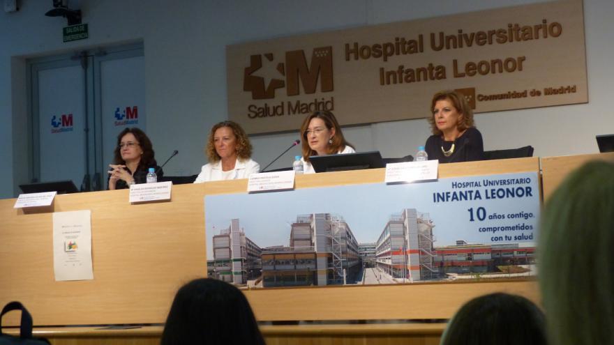De izquierda a derecha, Marta Sánchez-Celaya, Mª Ángeles Rodriguez, Carmen Pantoja y Mª Jesús Calvo