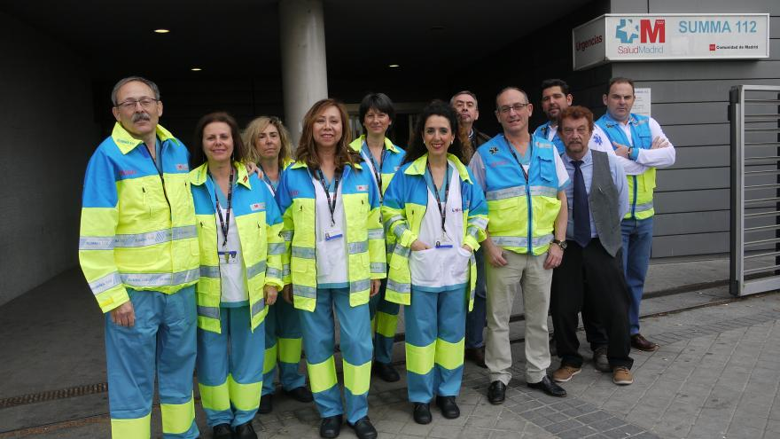Los trabajadores del SPRL del SUMMA 112