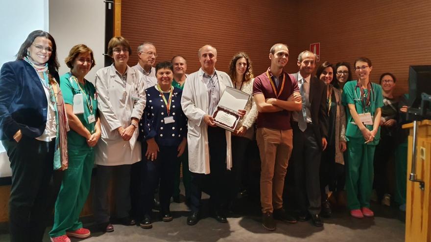 posado premio solidario en medicina