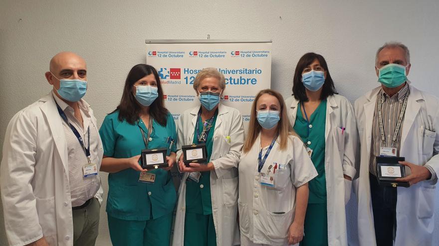 foto de grupo de profesionales de Hematología