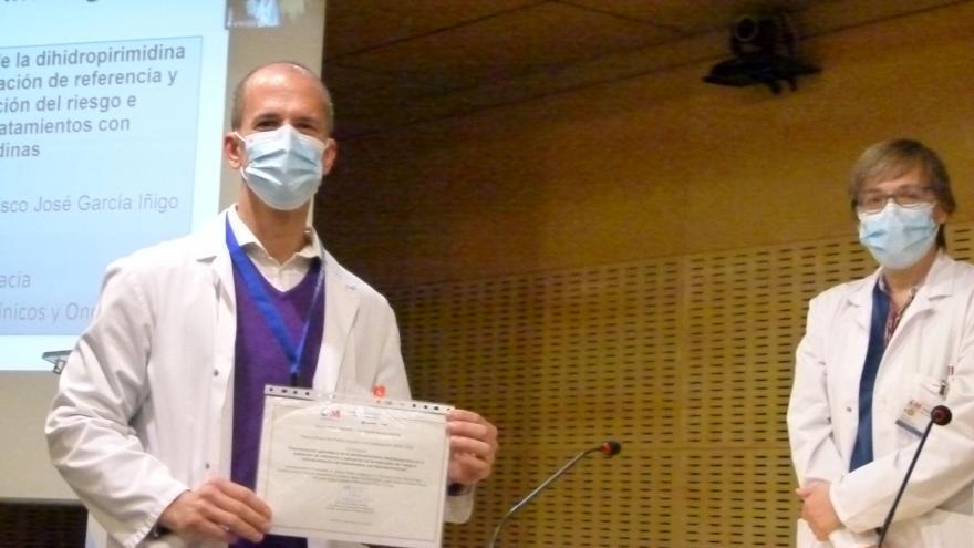 Primer premio de Investigación, Alvaro Prieto