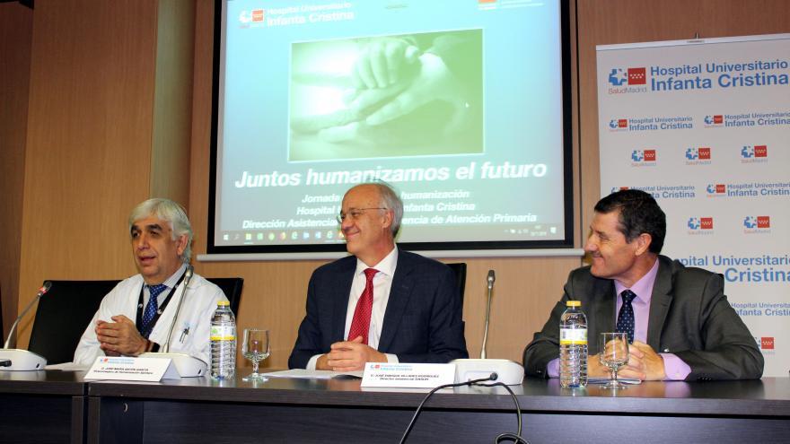 El Hospital Infanta Cristina acoge una jornada para tratar la humanización en los centros sanitarios del sur de la región
