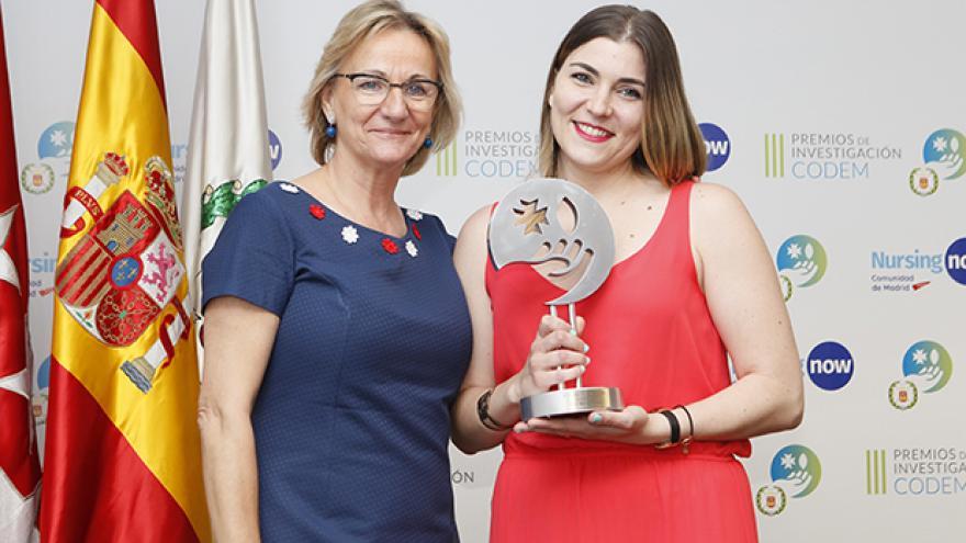 Leire Maculet, ganadora del segundo premio