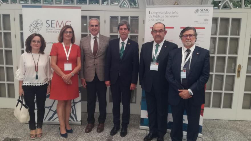 El consejero de Sanidad inaugura el I Congreso Madrileño de Médicos Generales y de Familia