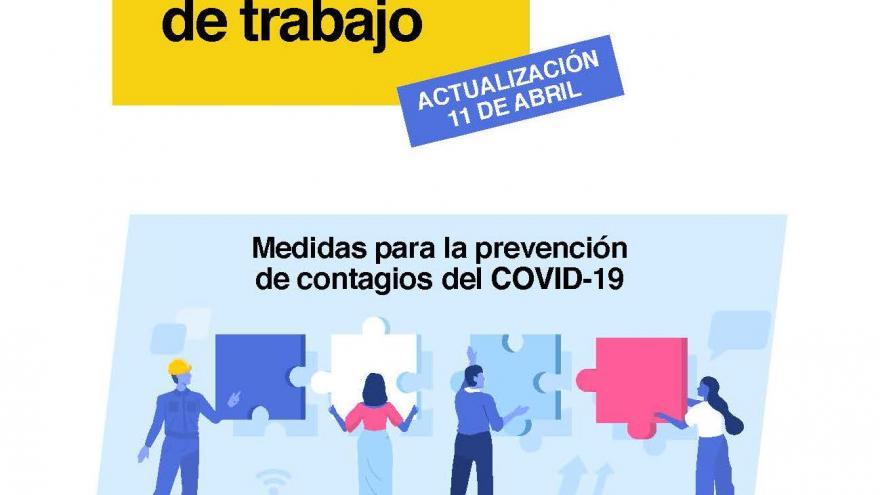 Medidas de prevención de contagios en el trabajo