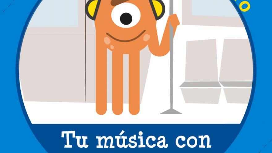 Campaña cívica en Metro. Música