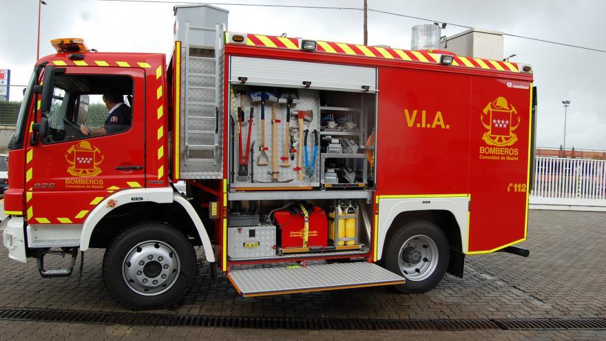 Vehículo de iluminación y achique: 4 unidades
