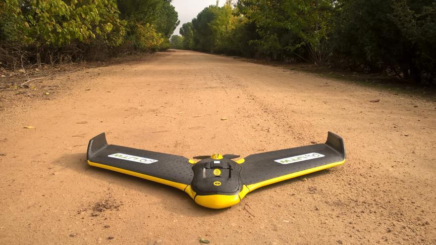 Dron para agricultura de precisión ESA BIC