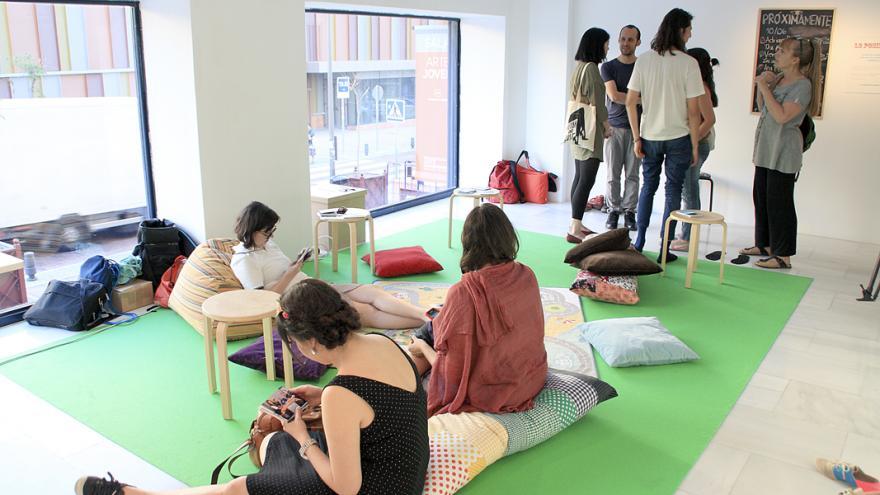 Actividades en la Sala de Arte Joven