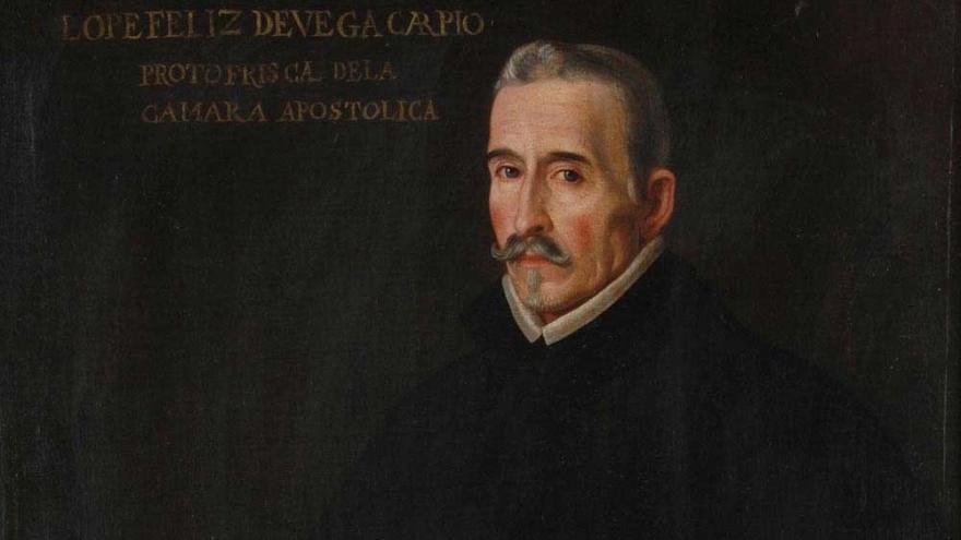 Retrato de Lope de Vega. Depósito del Instituto Valencia de Don Juan
