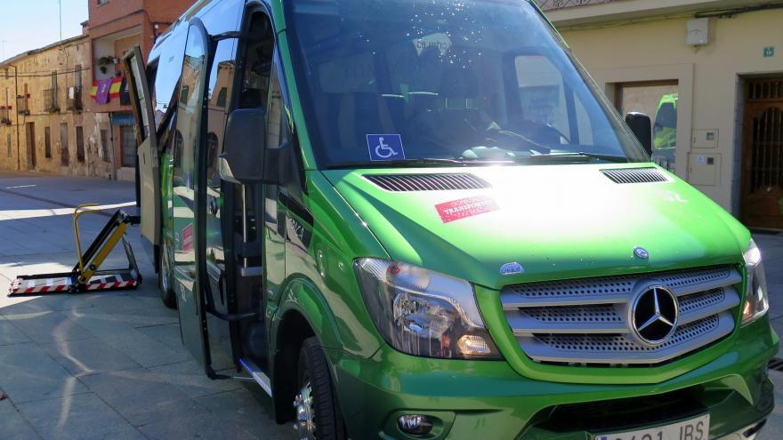 Autobús urbano del Consorcio de Transportes de Madrid