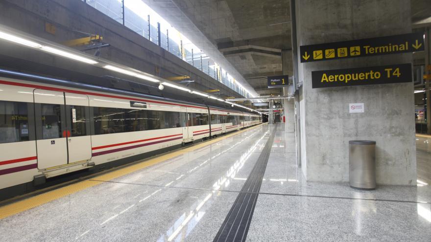 Estación de Cercanías del Consorcio de Transportes de Madrid