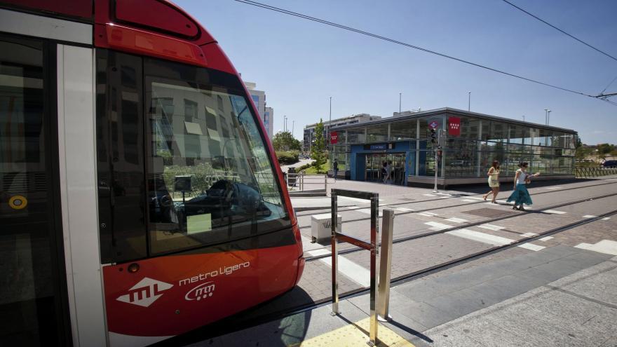 Metro ligero. Consorcio de Transportes de Madrid