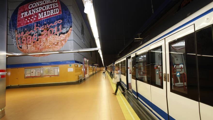 Estación de Metro. Consorcio de Transportes de Madrid