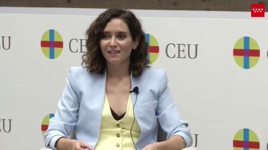 Acto Presidenta San Pablo CEU 16 septiembre 2021