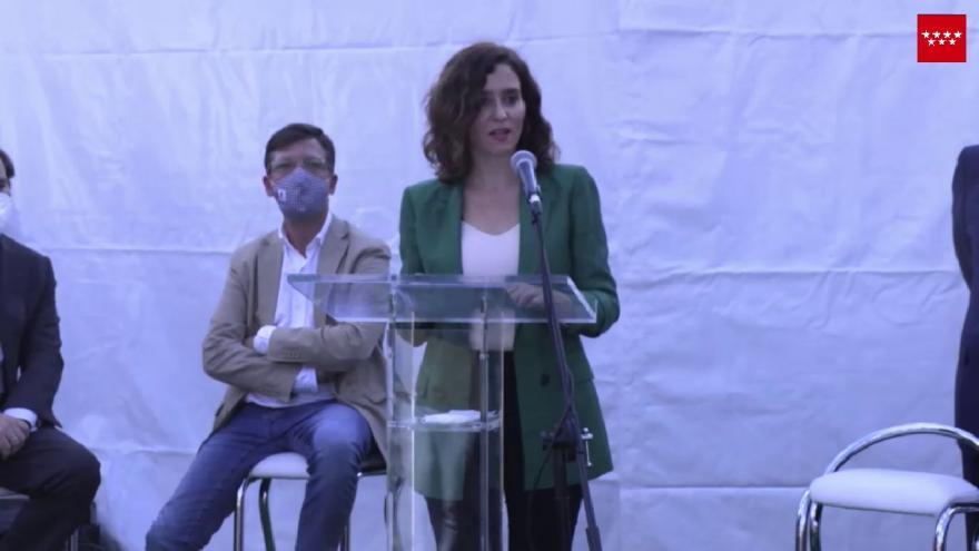 Acto presidenta VI Edicion Feria Vehículo Eléctrico