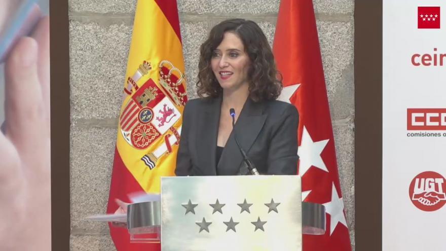 Acto Presidenta Estrategia Madrid por el Empleo