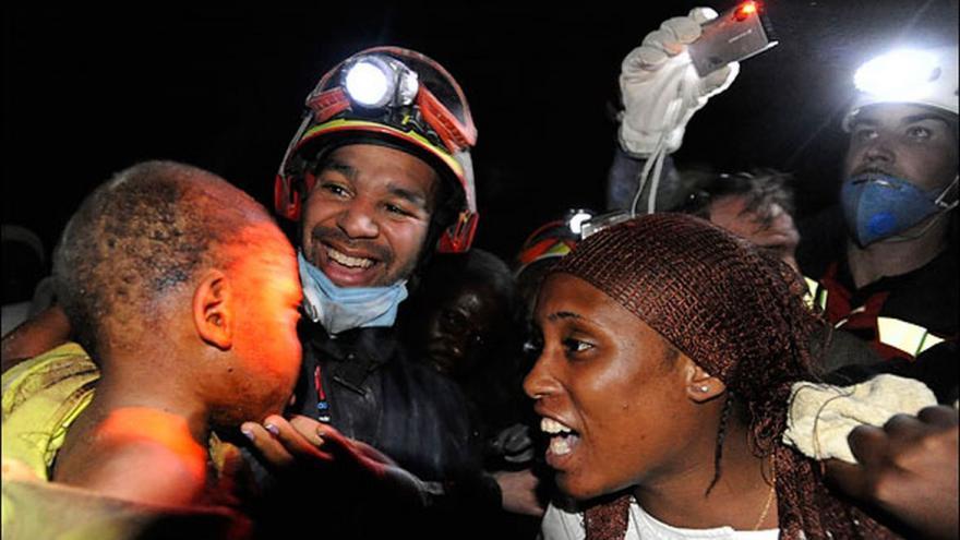 Intervención del ERICAM en el terremoto de Haití en 2010