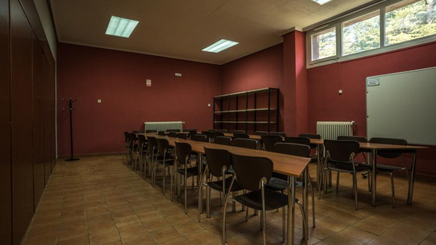 Albergue Villa Castora sala de trabajo 2