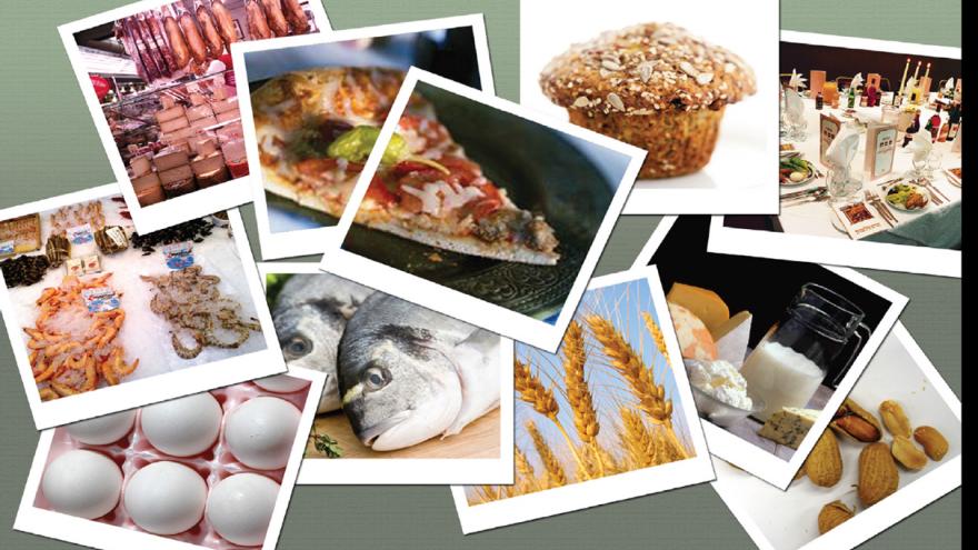 Sustancias que producen alergias e intolerancias alimentarias