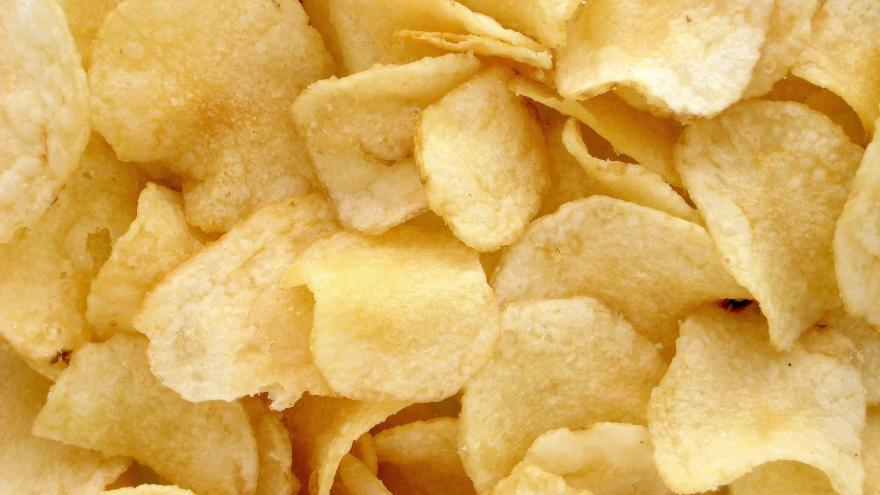 """Patatas tipo """"chips"""""""