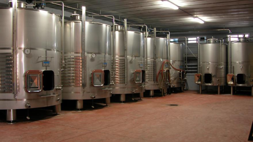 Tanques en bodega DOP Vinos de Madrid