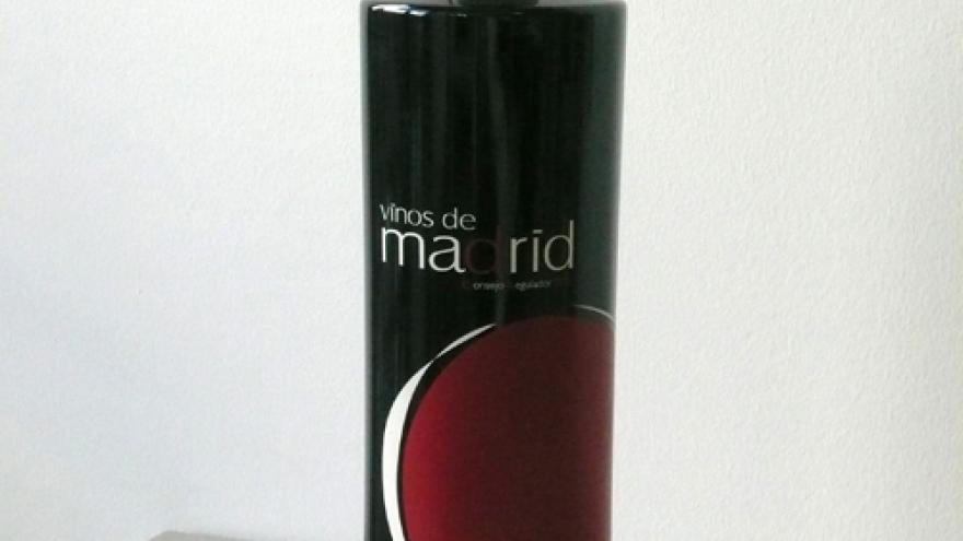 Botella de vino DOP Vinos de Madrid