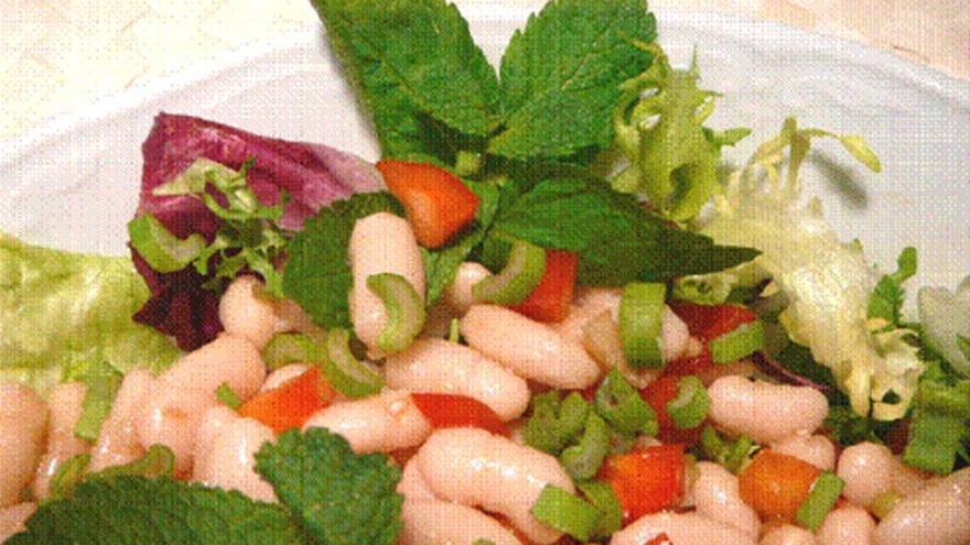 ensalada de alubias