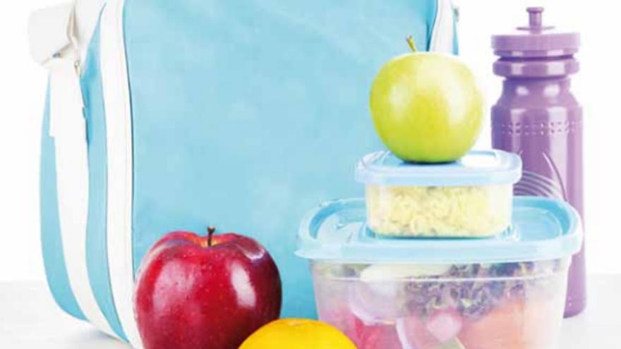 Portada folleto Tarteras seguras: tarteras de alimentos
