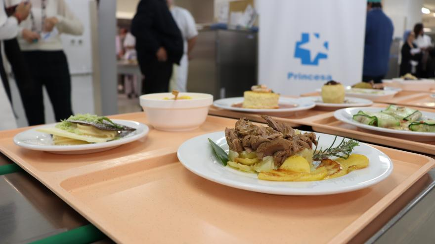Menú ganador del segundo concurso de cocina hospitalaria navideña