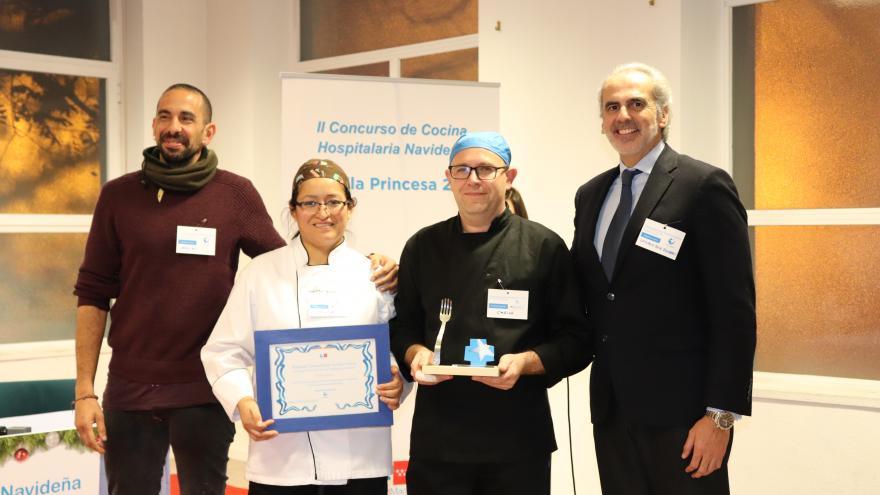El Hospital Severo Ochoa gana el segundo concurso de cocina hospitalaria navideña