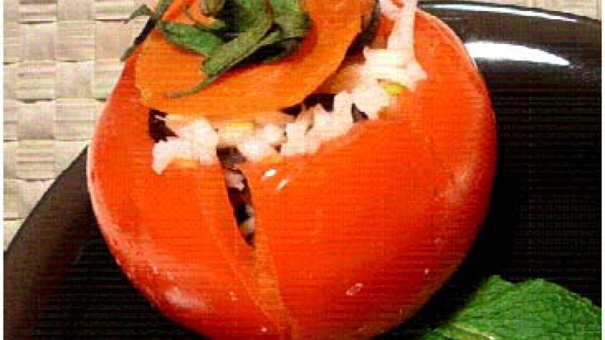 Tomates mediterráneos rellenos