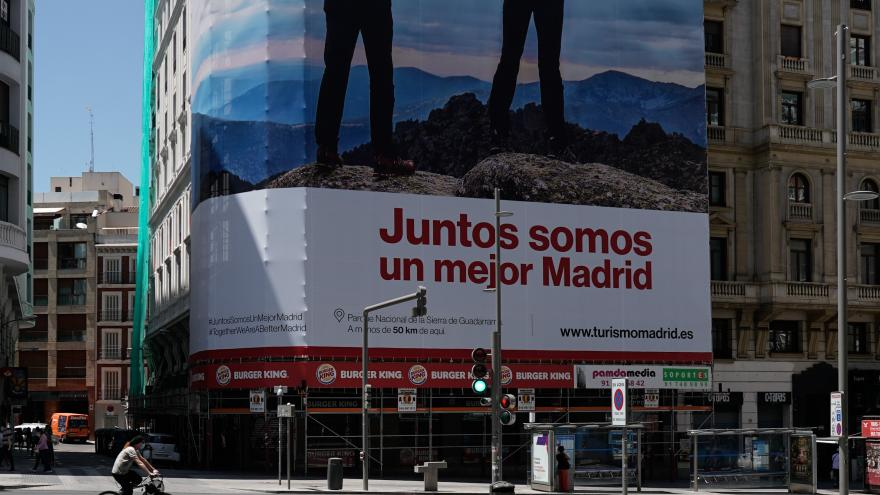 cartel Juntos somos un mejor Madrid