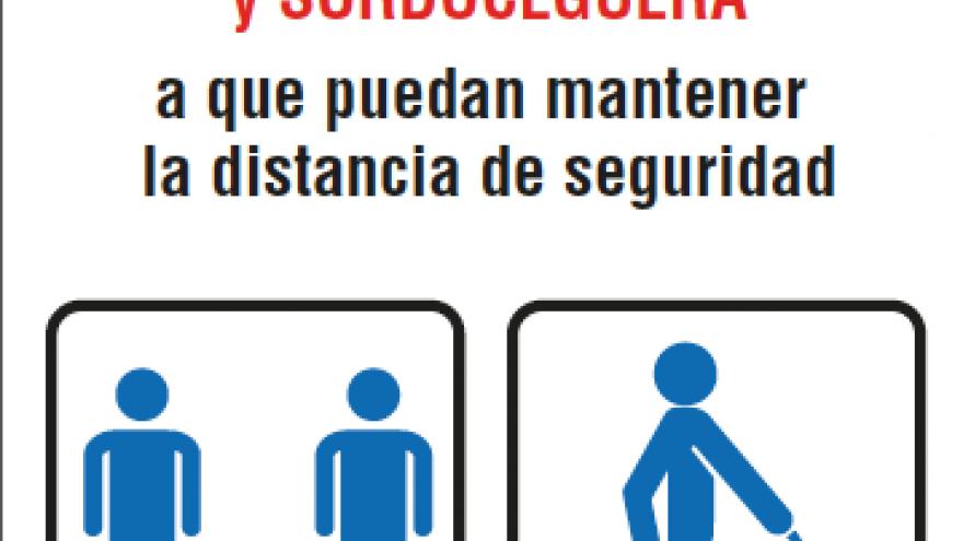 Cartelería discapacidad