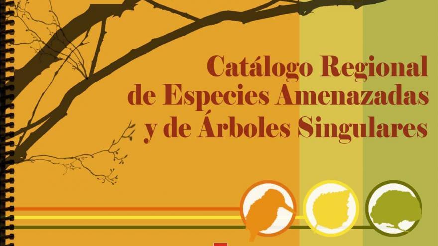 Portada del Catálogo Regional de Especies Amenzadas